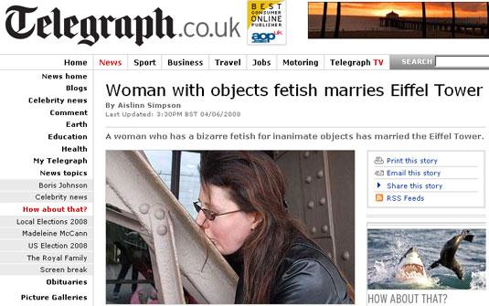 casar com objetos