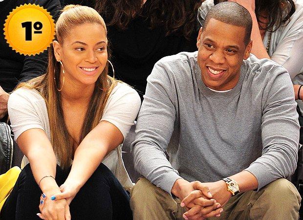 Beyoncé Knowles e Jay-Z - casal mais rico