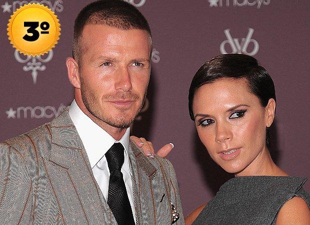 David e Victoria Beckham - casais mais ricos
