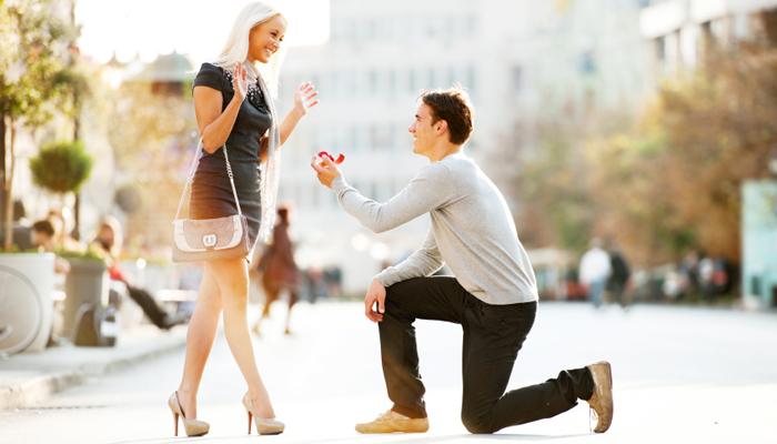 onde pedir em casamento