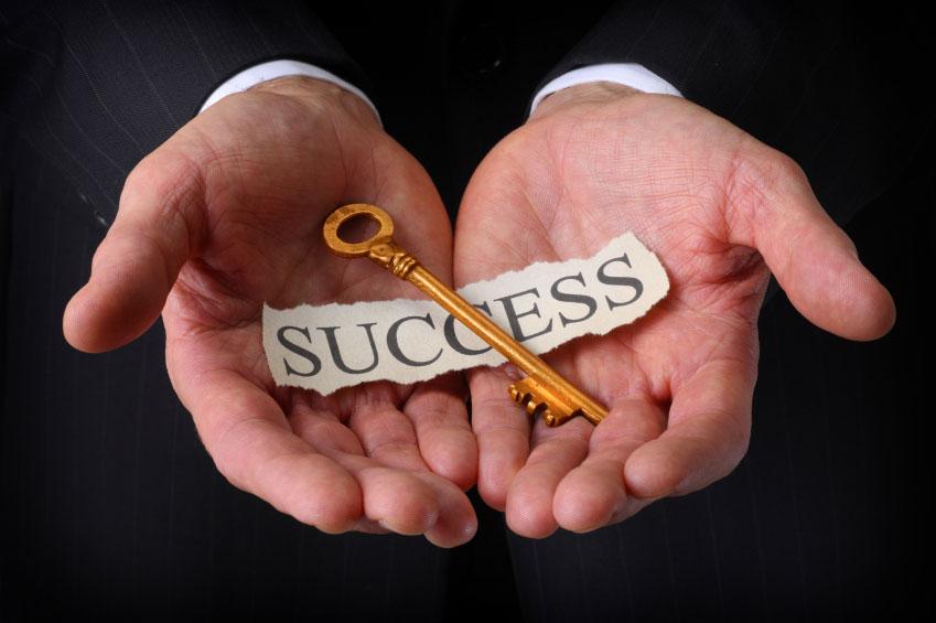 chave para o sucesso