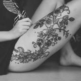 Tatuagens na perna