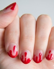 Unhas do Halloween