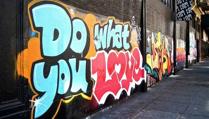 grafitti amor