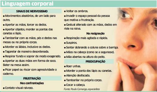 ler linguagem corporal