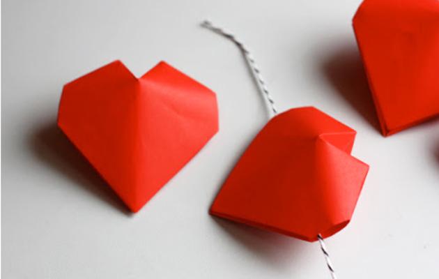 3D-Oragami-hearts